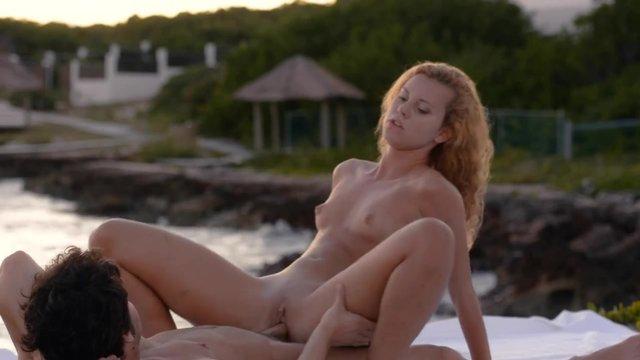 Наслаждения сексом на берегу